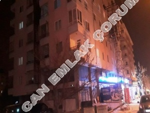3 + 1 flat for sale in Çorum center, facing the Kale Mahallesi Ata Street